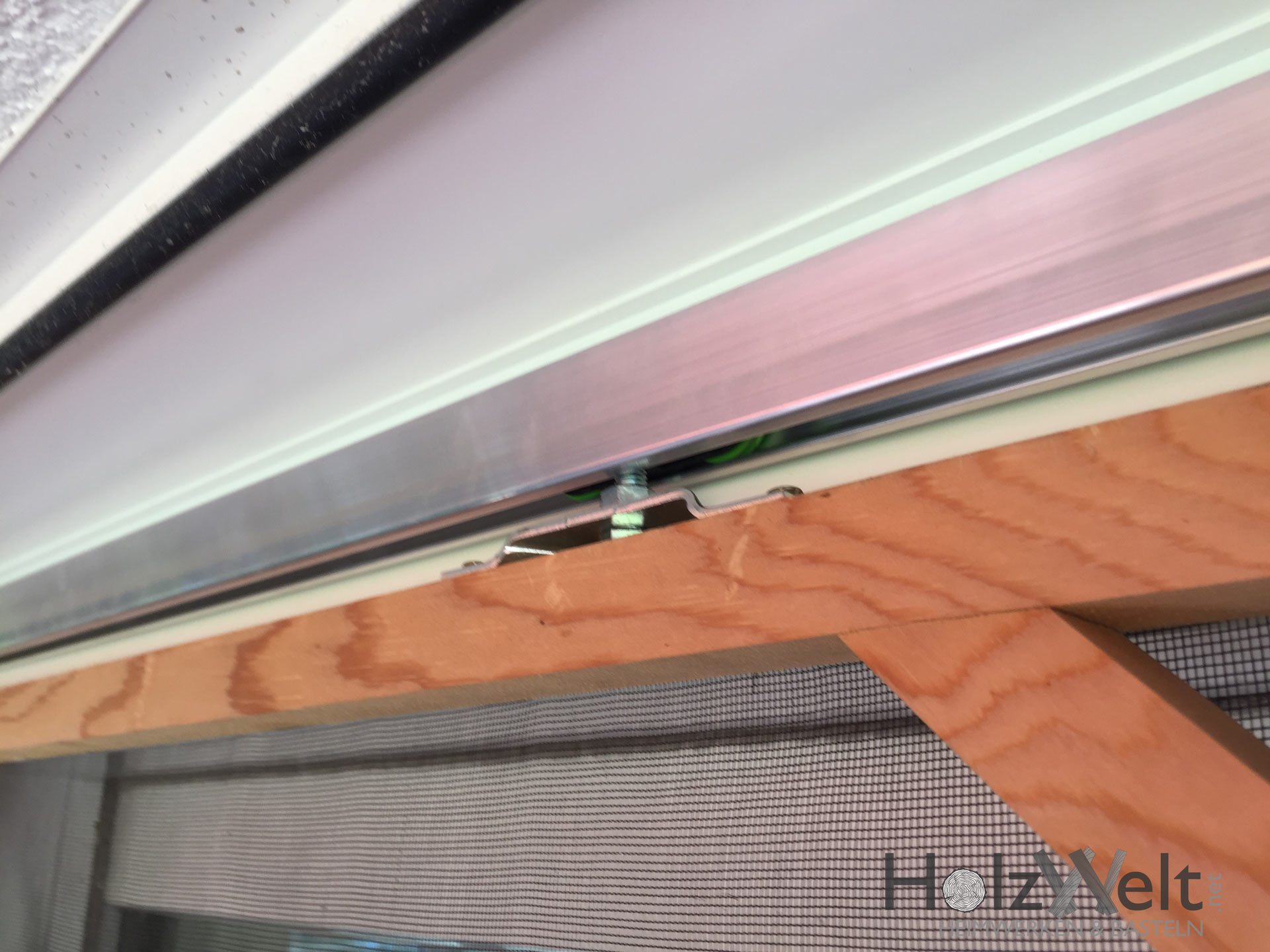 Fliegengitter Fur 3m Terassentur Selber Bauen Holzwelt Net