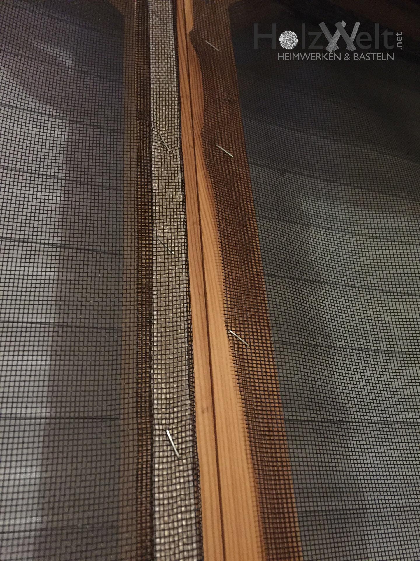 fliegengitter für 3m terassentür selber bauen › holzwelt